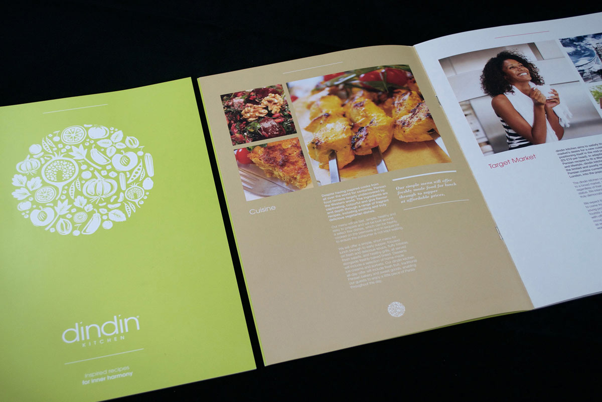 Image of dindin Kitchen graphic