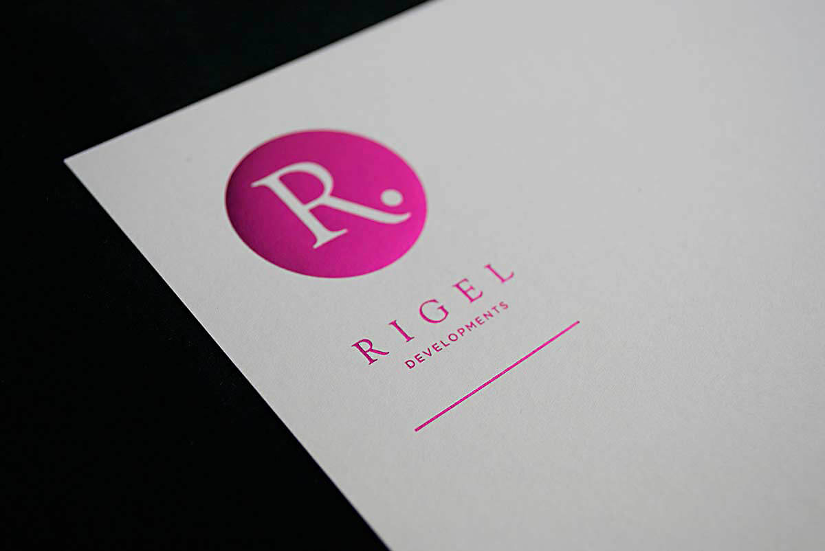 Image of Rigel Developments Card brand
